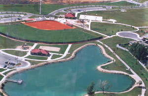 Willow Pond Aerial