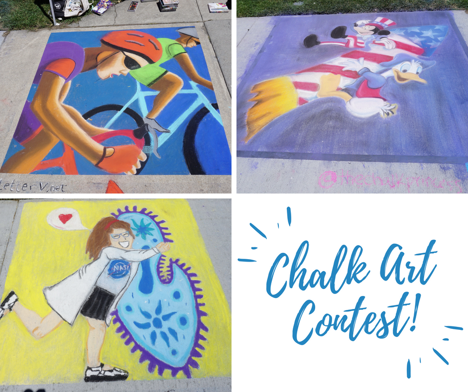 Chalk Art Contest!