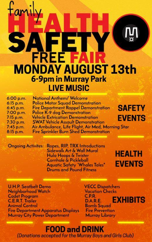 Family Health and Safety Fair Flyer