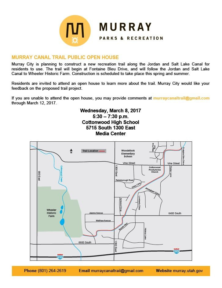 Murray Canal Open House