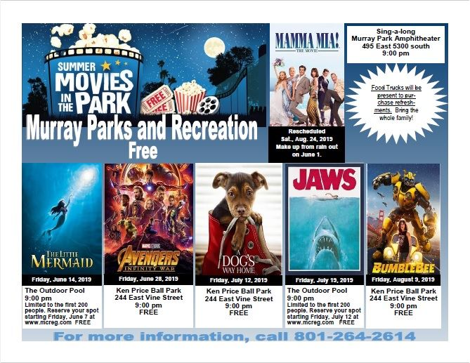 Movies in the Park 2019